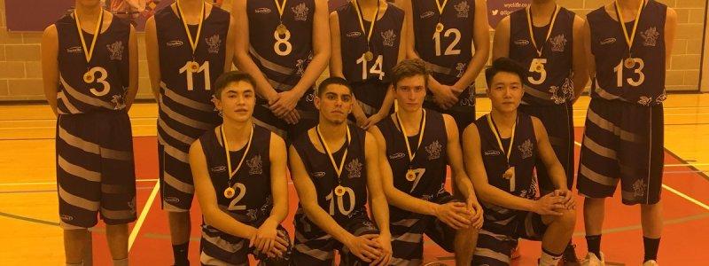 Wycliffe Win U18 Men County Basketball Finals