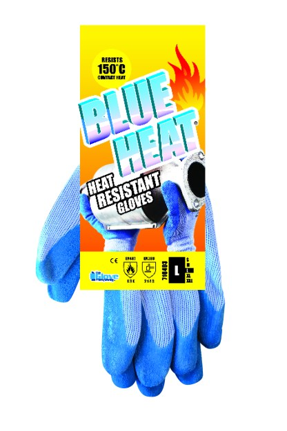 Heat Resistant Gloves Hang Tag