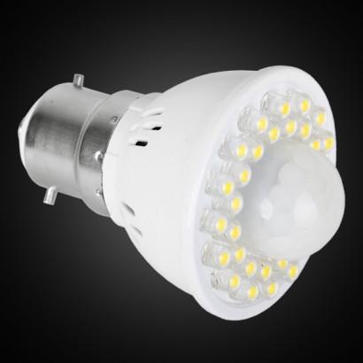 B22 Bayonet LED Motion Sensor Light Bulb
