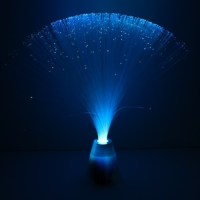 Fibre Optic Lamp With Colour Change Base