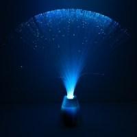 Fibre Optic Lamp With Colour Change Base
