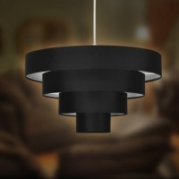 Four Tiered Circular Lampshade