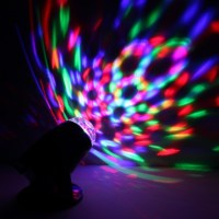 Rotating Kaleidoscopic LED Projector Lamp