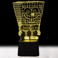 Spongebob Squarepants 3D Illusion Mood Light