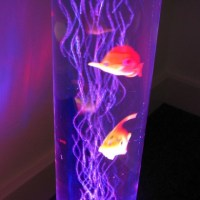 Colour Change Sensory Bubble Fish Lamp