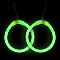 Glowstick Hoop Earrings