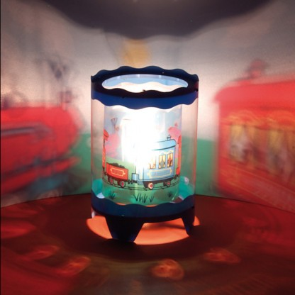 Childrens Rotating Table Lamp Projector