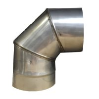 5 Inch Stainless Steel Flue Pipe, Single Wall 316 Grade ...