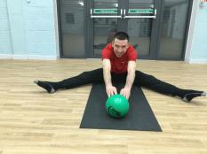 Inner thigh stretch