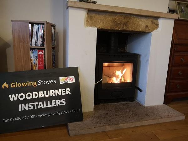Yeovil log burner installer and fitter