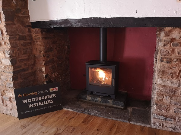inglenook fireplace stove installation
