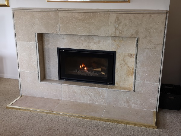 Stovax Studio 1 stove installation in Taunton, Somerset