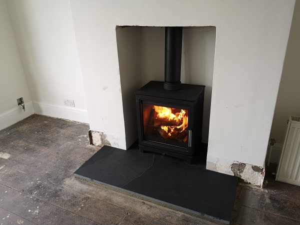 stove installations in Yeovil, Somerset.
