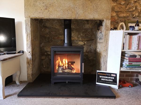 Log burner installer in South Petherton, Yeovil.