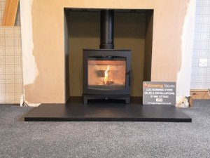 Log burners sales and installations.