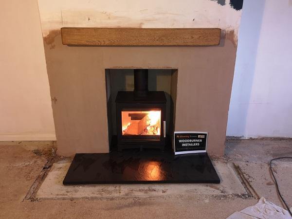 Fireplace renovations in Taunton, Somerset.