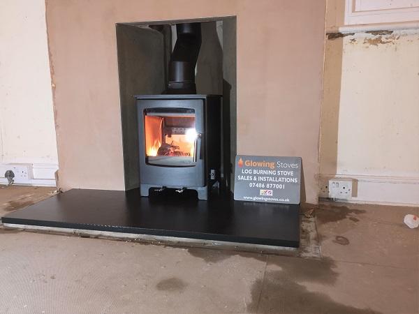 Multi-fuel stove installer in Trull, Taunton.
