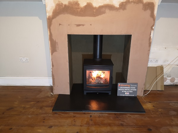 woodburners installed in Taunton.