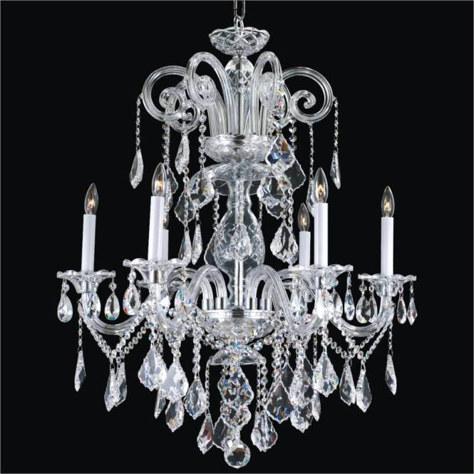 Classic Crystal Chandelier By Glow Lighting