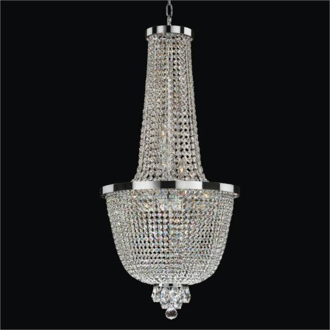 Foyer Crystal Chandelier Modern Time 603 By Glow Lighting