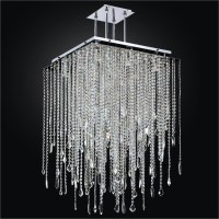 Square Chandelier - Crystal Drop Chandelier | Cityscape ...