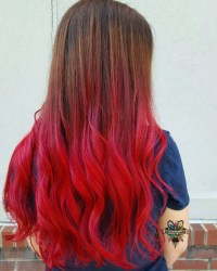 Ombre Hair From Brown To Red | www.pixshark.com - Images ...