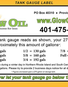 Reading your tank gauge label with glow oil also home heating delivery schedule ri ma rh glowoil