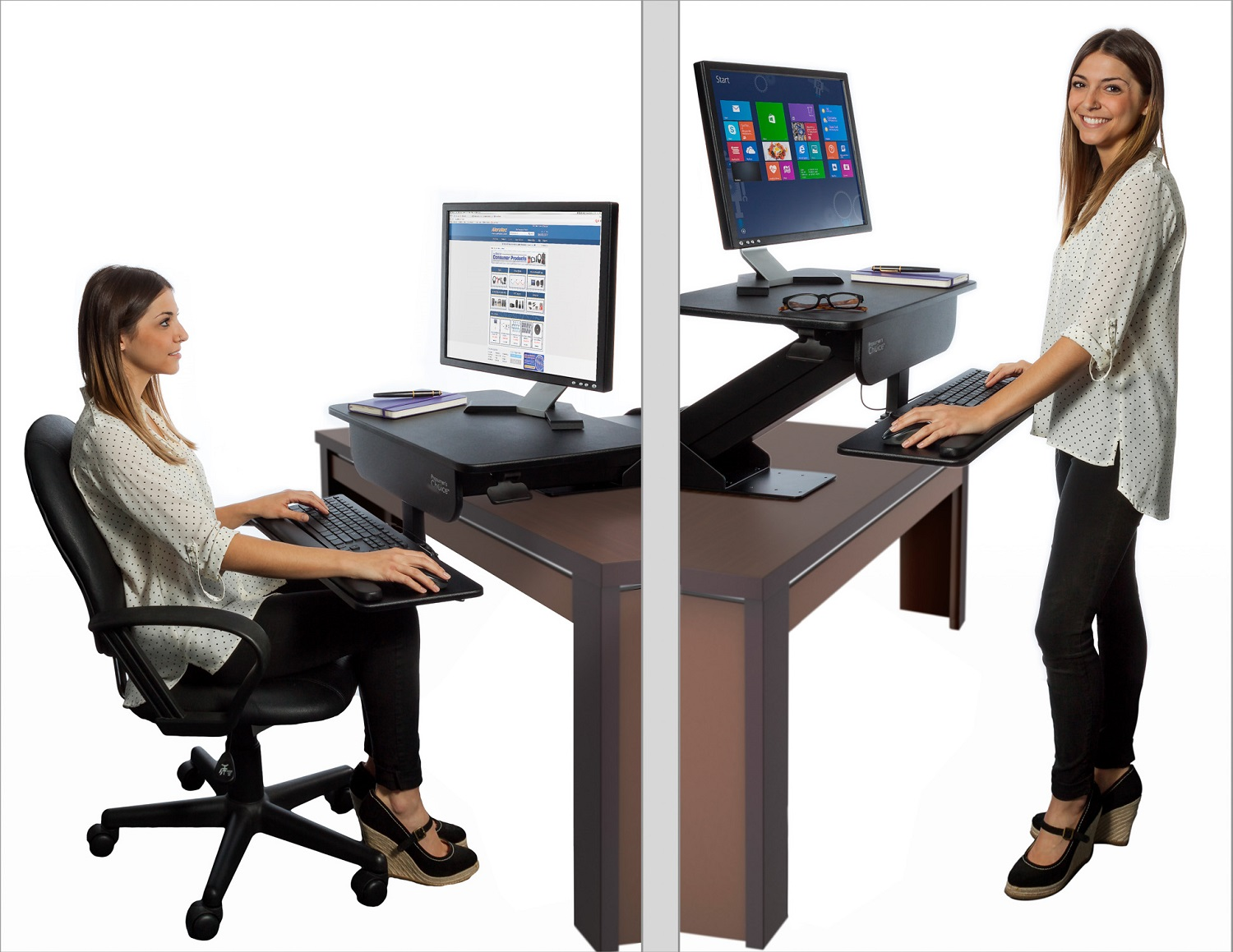 stand up desk chairs fisher price duck potty chair standing desks are they worth the hype glow physio