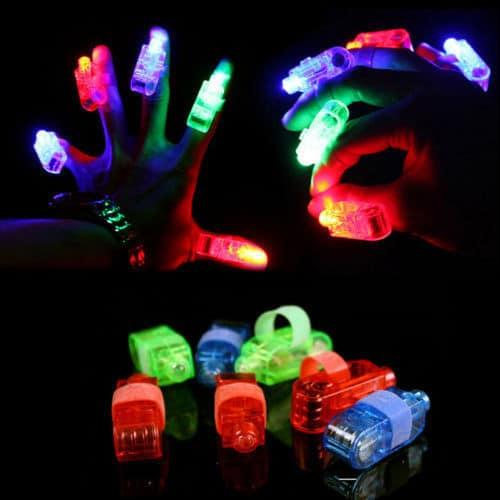 LED Finger Lights  Glowtopia
