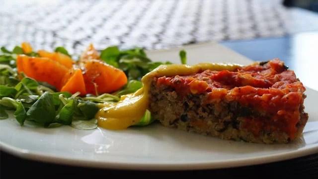 Zapiekanka mięsno warzywna
