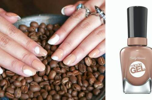 Manicure Sally Hansen na Dzień Kawy