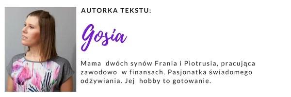 autorka tekstu Gosia