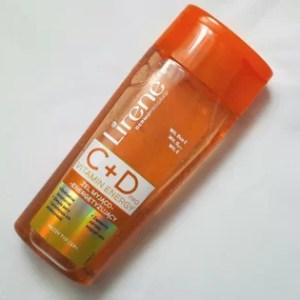 Vitamin Energy C+D pro - żel myjący marki Lirene