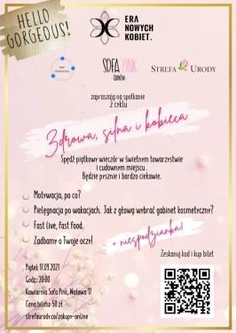Era Nowych Kobiet Tarnów - plakat na pierwsze spotkanie