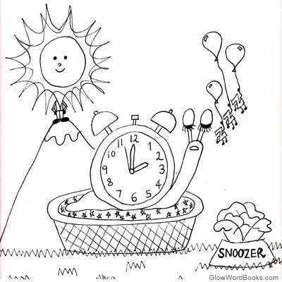 Kids Poem: Slow-i-cane
