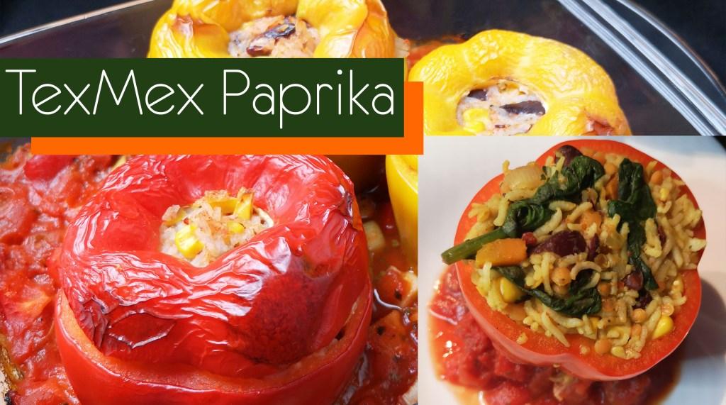 2 Varianten TexMex Paprika