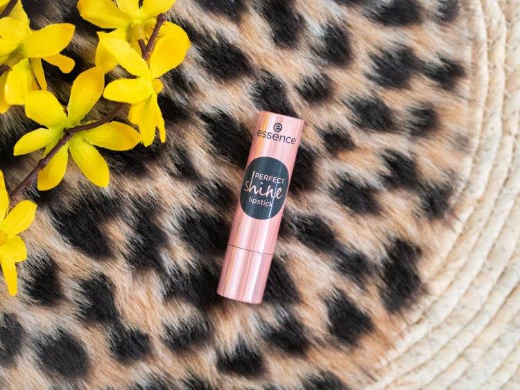 Essence perfect shine lipstick review