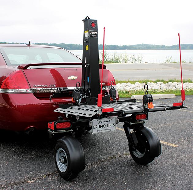 San Francisco Ca wheelchair lift carrier class 3 trailer