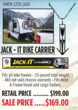 jack it trailer tongue bike rack good