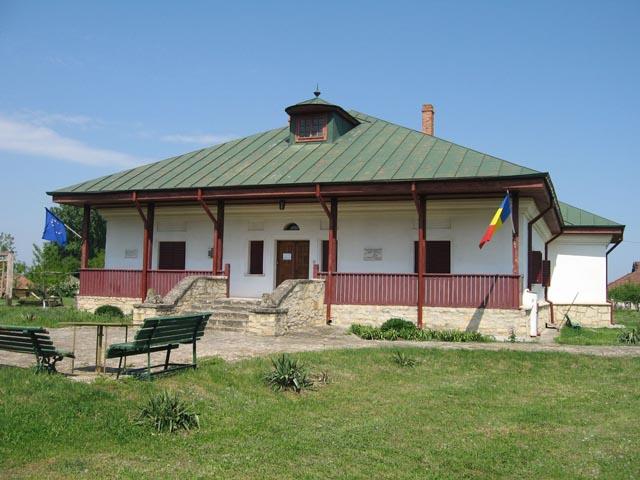 Casa memorială Costache Negruzzi de la Hermeziu