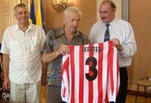 Iosif Lereter sărbătorit la împlinirea vârstei de 80 de ani, Arad, sala Regele Ferdinand