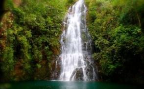 Hidden Valley Waterfall in Belize.