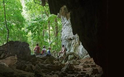 Hidden Valley Caves in Belize.