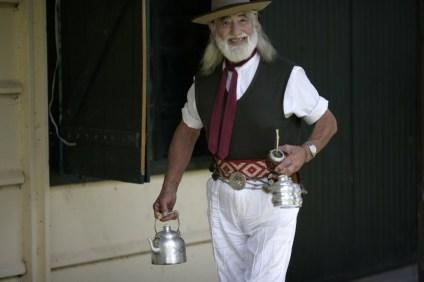 An Argentinian man.