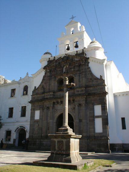 A church in Ecuador.