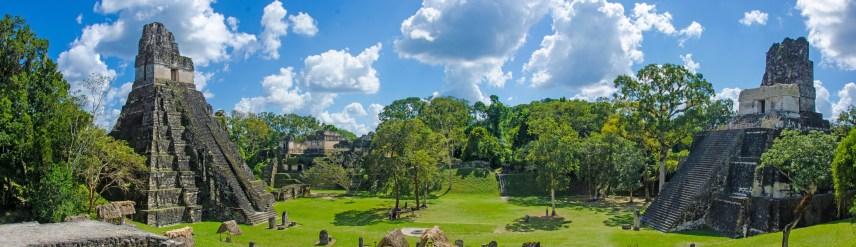 Ruins in the Maya City Tikal in Guatemala