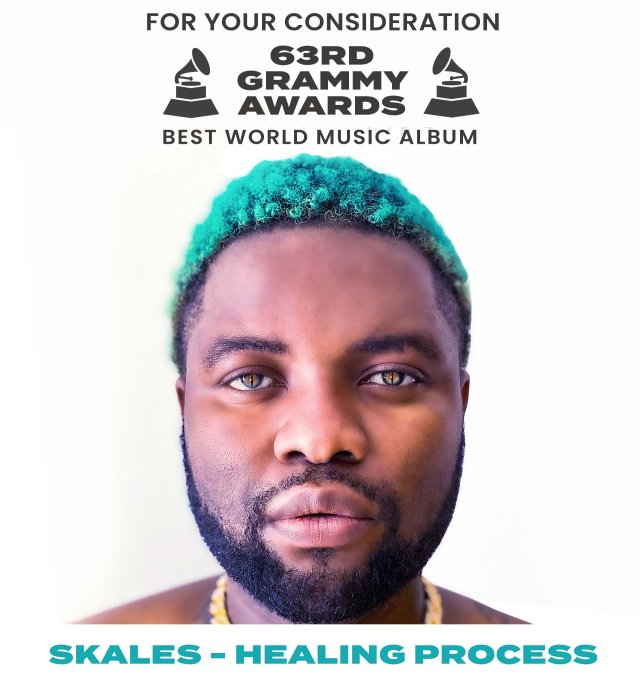 Skales nominated for Grammy Award Album of the Year