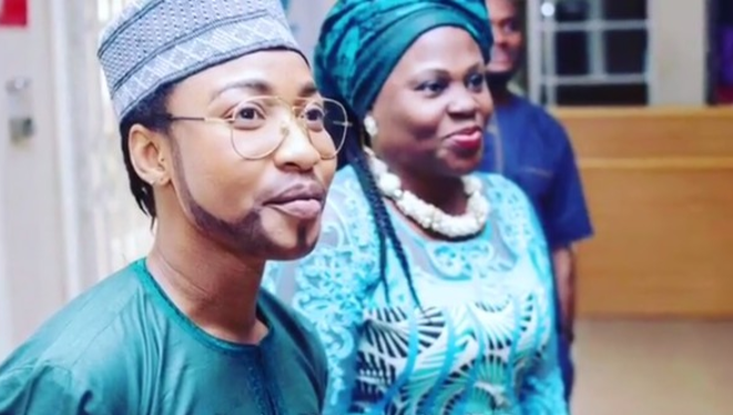 Tonto Dikeh Dressed Like A Man To Her Son's School On Father's Day