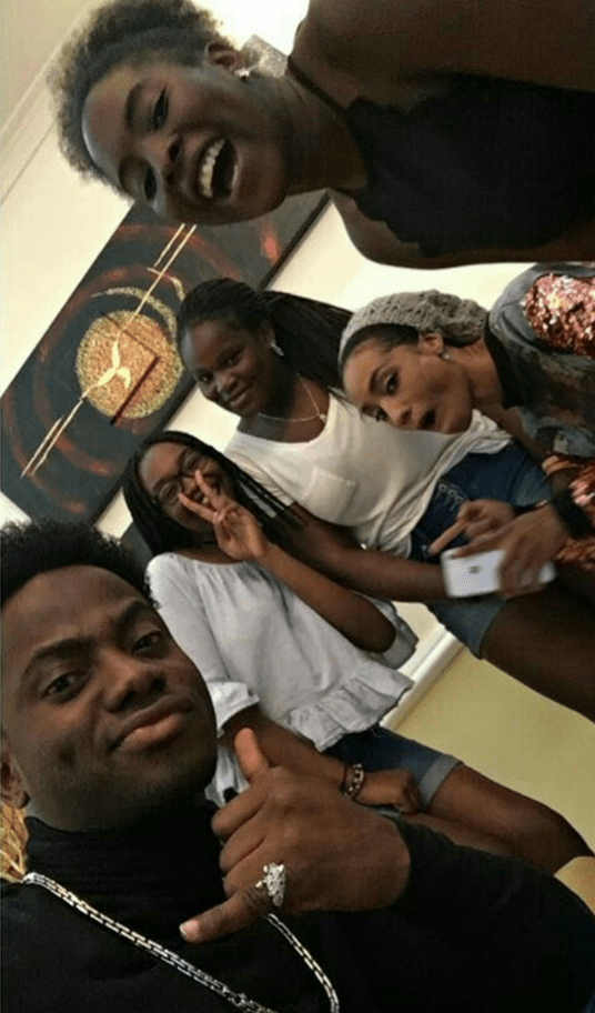 This Photos Of Korede Bello and A 13-Year Old Girl at A Party Has Got People Talking