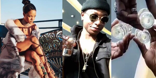 Foreign Level! See Whats Happening Between Rihanna, Davido And Lil Kesh On Instagram (Video)